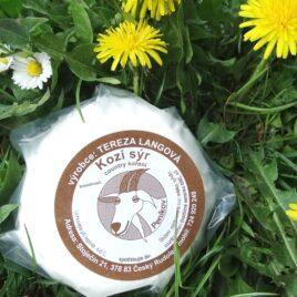 Kozí sýr s country kořením 120g