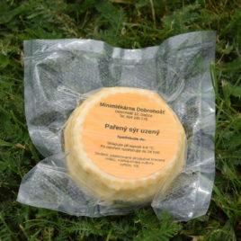 Kravský sýr pařený uzený 150g