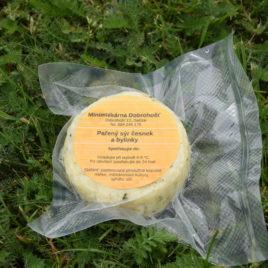 Kravský sýr pařený s česnekem a bylinkami 150g