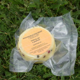 Kravský sýr pařený s pepřem 150g