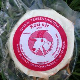 Kozí sýr s chilli 120g