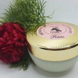 Přírodní krémový deodorant růže 50 ml