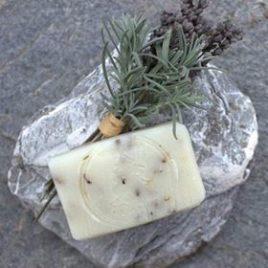 Přírodní mýdlo Levandule a konopný olej