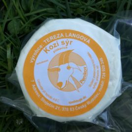 Kozí sýr s pískavicí 120g