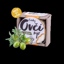 Sýr ovčí s olivami 150g
